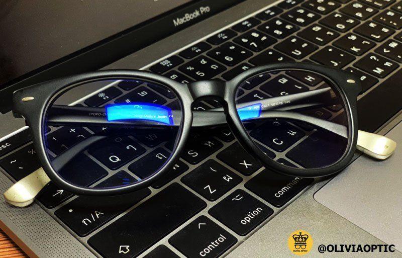 แว่นกรองแสงสีฟ้า - oliviaoptic